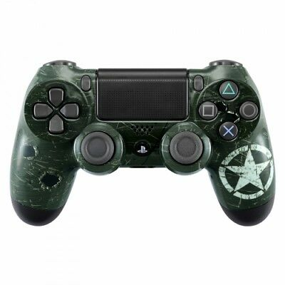 PS4 Controller WW2 Style Gehäuse Oberschale Case Hülle Front Cover Slim & Pro
