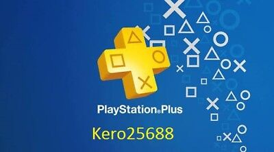 PSN PLUS 6 Month( 12x14) DAY TRIAL - PS4 - PS3 - PS Vita - PLAYSTATION NO.CODE