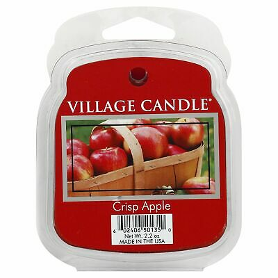 Vc Melts Crisp Apple,Size EA,Pack of 8, Vc Melts Crisp Apple,by Village Candle