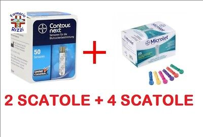 Contour Next 100 Strisceglicemia + 100 Aghi Microlet