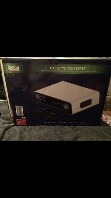 TEVION SOUND CASSETTE CONVERTER, BOXED, BACK UP TAPES TO MP3 Cheapest On eBay