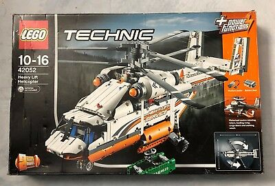 LEGO 42052 Heavy Lift Helicopter Boxed   New Stickers   New Power Functions   