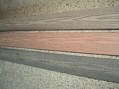 COMPOSITE DECKING Red, Charcoal and Brown  145X30 (MERBAU)