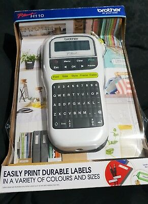 Brother P-touch Label Maker White PT-H110