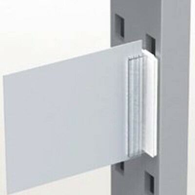 Pack 10, Sign Hold Whse Wht/Clr 1/4In, Part RFG2-WU-NH250, by Southern Imperial