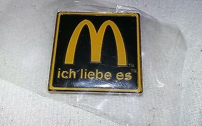 NEW IN PACKAGE -- McDonald's COLLECTABLE GERMAN PIN