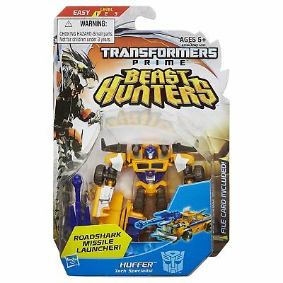 New Transformers Prime Beast Hunters Huffer Tech Specialist A3394