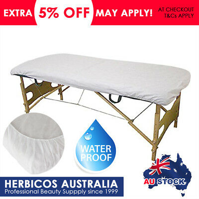 Disposable Waterproof Massage Bed Fitted Sheet Beauty Wax Table Cover Non Woven