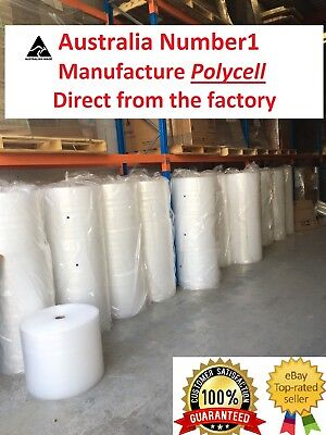 10ROLLS Bubble Cushioning Wrap Clear Polycell P10 10mm -Various Sizings Shipping