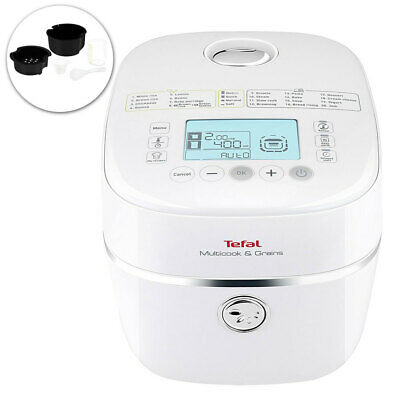 Tefal Electric Multicook & Grains Rice Cooker/Soup/Yogurt/Jam Maker/Steamer/Slow