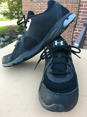 UNDER ARMOUR ENDURE Black Silver Mens Shoes Size 10.5 -  34.99 ... 13f8f1461d0e