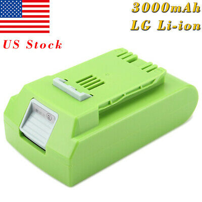 3000mAh 24V Li-ion Cell Battery for GreenWorks G-24 24V 29842 29852 29322