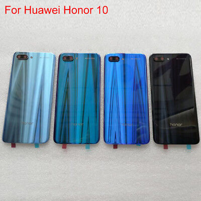 For Huawei Honor 10 Original Rear Battery Door Back Glass Housing Cover Case