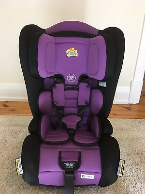 Lachy Lachlan Wiggle Infasecure Car Seat Convertible Booster Seat 6mths-8rys