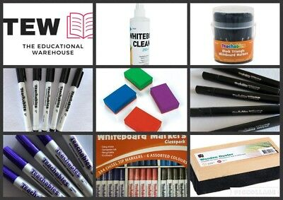 Whiteboard Markers, Pens, Erasers, Cloths & Cleaners Teacher Resources Classroom