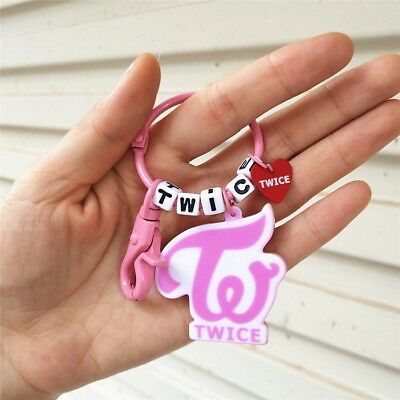 Kpop BTS EXO GOT7 TWICE SEVENTEEN Keychain Car Keyring Key Holder Bag Pendant