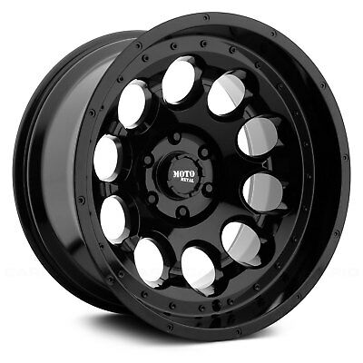 Moto Metal, Rotary,17 inch MO990  17x9 Satin Black Alloy Mag Wheel Rim