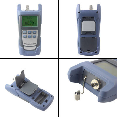 Compact Handle Fiber Optic Optical Power Meter Tester -70~+10dBm SC/FC Connector