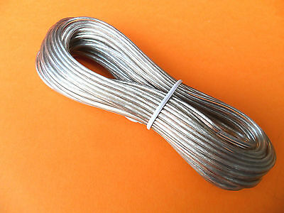 2 x 10m SPEAKER CABLE 24 AWG Audio Wire for home speakers & Home systems