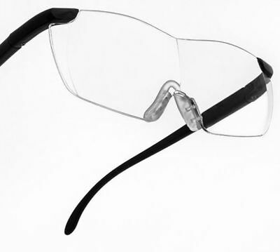 Magnifying Glass Glasses Hands Free Head Magnifier  Reading Hobbies Crafts Books
