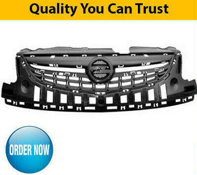 2011-2014 Vauxhall Corsa D Upper Centre Front Bumper Grille New Collection Only