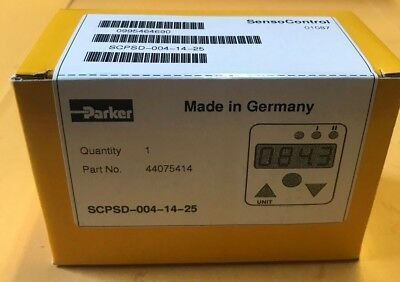 Parker Sensocontrol Electronic Pressure Switch - Scpsd-004-14-25