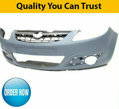 Front Bumper Primed Vauxhall Astra H 2004-2006 Brand New High Quality