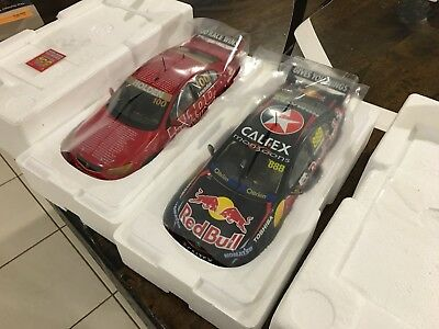 Craig Lowndes 100 race wins 1/18 classic carlectables twin set display box 18599