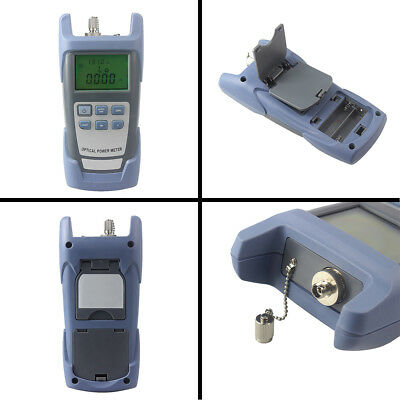 InGaAs DXP-40D Handle Fiber Optic Optical Power Meter Tester -70~+10dBm SC/FC