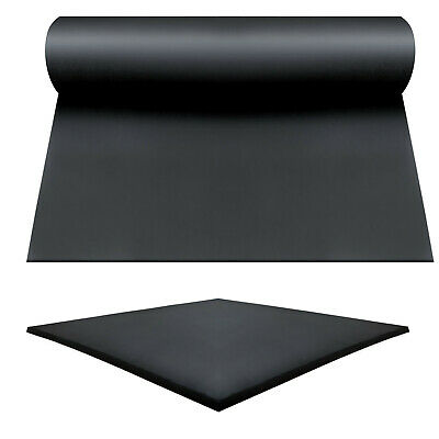SOLID NEOPRENE Rubber Sheeting Garage Flooring Matting Roll 1.4 M Width