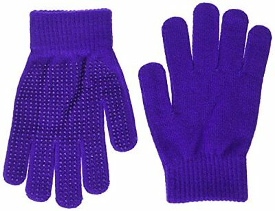 Shires Equestrian Sure Grip Gloves - Purple, Adult One-Size