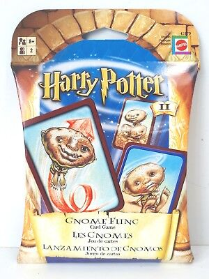 Harry Potter Gnome Fling Toss Card Game
