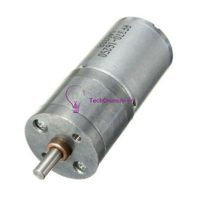 12V DC 60RPM Powerful High Torque Gear Box Motor Electric Micro Speed Reduction
