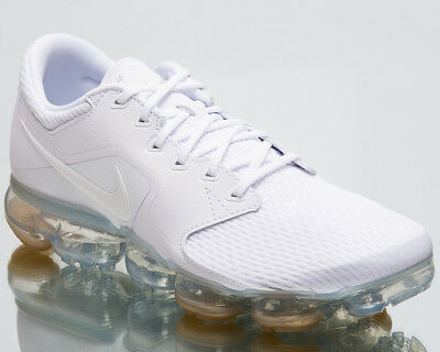 quality design b48f2 7ecee Nike Air VaporMax Men Running Shoes Mens New White SIlver Sneakers AH9046 -101
