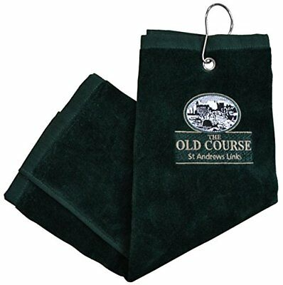 St Andrews 3 Fold Towel- Green