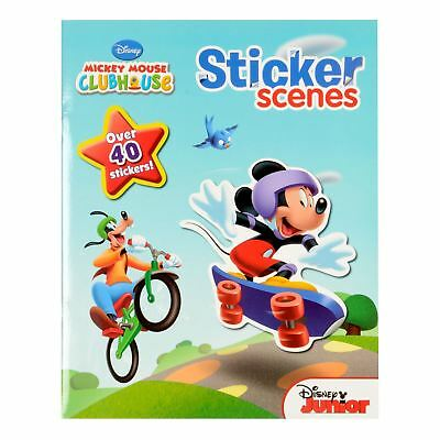 Disney Junior Mickey Mouse Clubhouse Stickers Scenes Book Kids Fun Party Filler
