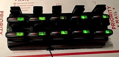 JTech Premises Pager System Charging Dock/Station 10-Slot  Includes 10 Pagers