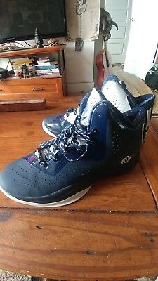809842583755 D ROSE BASKETBALL shoes size 9