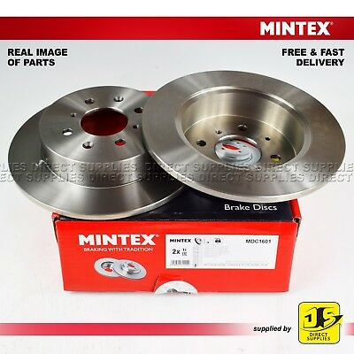 Honda Civic Vi Vii Mg Express Box Zr Zs Hatchback Mintex Rear Disc Brakes Pair