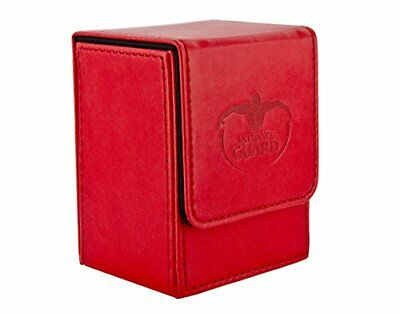 Ultimate Guard UGD10148 Flip Deck Case Leather. 80 Rot Card Game