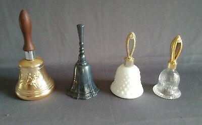 Vintage Avon Bells - Mixed Lot of Silver-Plated and Glass