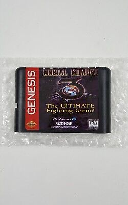 Ultimate Mortal Kombat 3 Game16 Bit Cartridge Game Card Sega Mega Drive