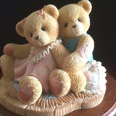 Cherished Teddies Ruth & Gene #476668 - Even When We Don't See Eye To Eye...