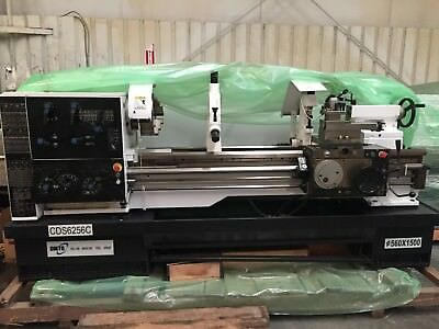 "Dalian precision engine lathe 22"" x 60 "" new 2013"