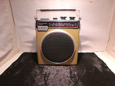1970's JC Penney FM/AM Eight Track Player Model No. 681-3863 Works