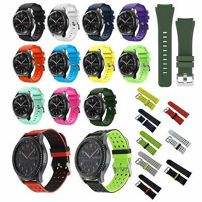 US Silicone Bracelet Strap Watch Band For Samsung Gear S3 Frontier / Classic mu