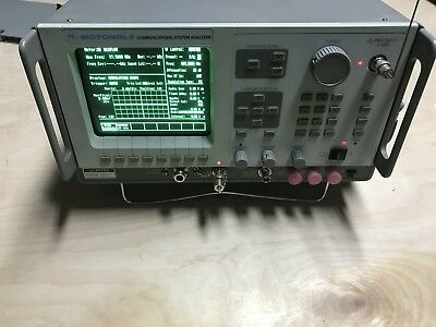 Motorola R2600B/NT/HS Radio Communications Service Monitor