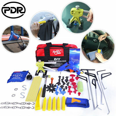 PDR Rods Paintless Dent Removal Dent Lifter Air Pump Wedge Hail Repair Tapdown