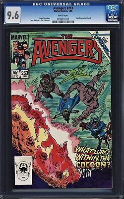 Avengers #263 CGC 9.6 WP Return of Jean Grey Phoenix X-Men Movie John Buscema