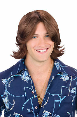 That 70s Show Inspired Ladies' Man 1970s Adult Wig (Brown)